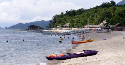Acuatico Beach Shoreline