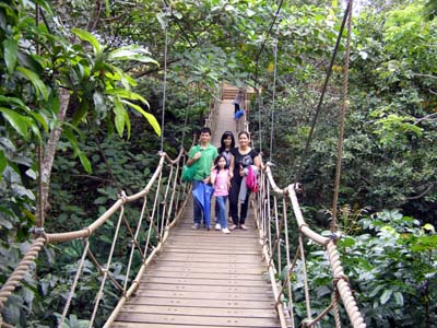 Caleruega Hanging Foot Bridge