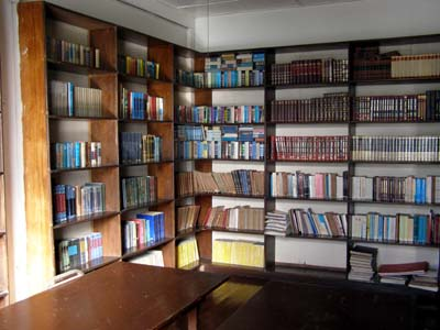 The Library at Gen. Malvar Museum
