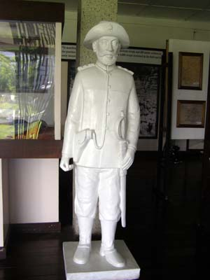 General Malvar's Sculpture found in the museum