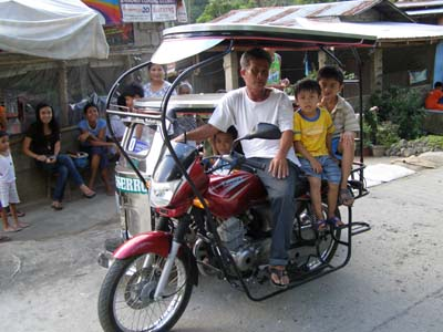 Tricycle Batangas Philippines