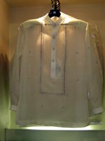 Barong Tagalog with Chinese Colar