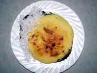 Delicious and creamy bibingka galapong - Batangas snacks
