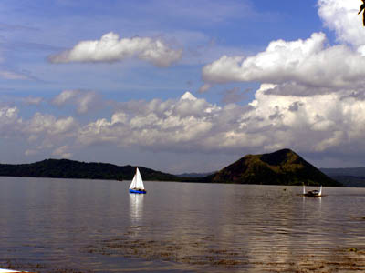 Taal Volcano the smallest active volcano
