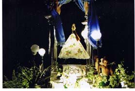 Image of Our Lady of Caysasay - Taal Fluvial Procession