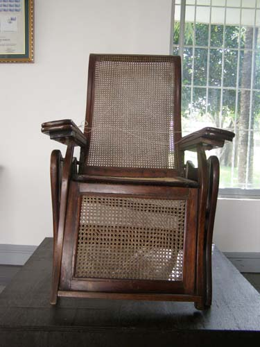 Mabini's Chair - Mabini Shrine
