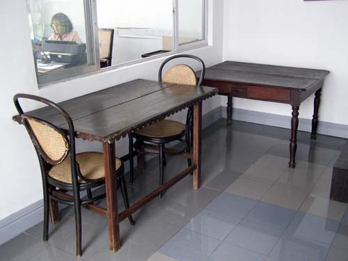 Mabini's Dining and Study Table - Mabini Shrine