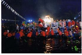 Taal Fluvial Procession - Pansipit River