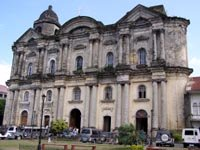 Basilica of San Martin De Tours or Taal Basilica
